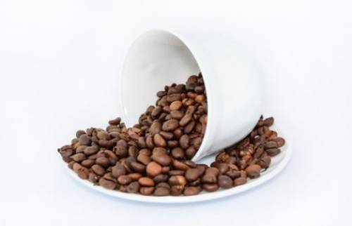Roasted coffee beans and sport