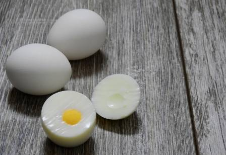 A high-protein diet. Eggs
