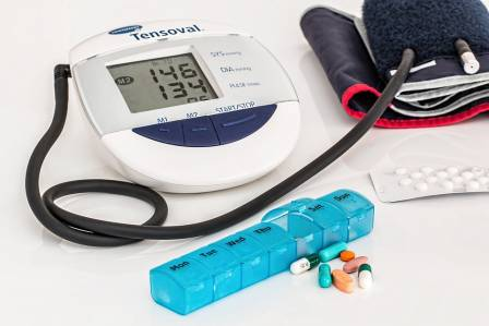 Blood pressure monitor, high blood pressure and pills