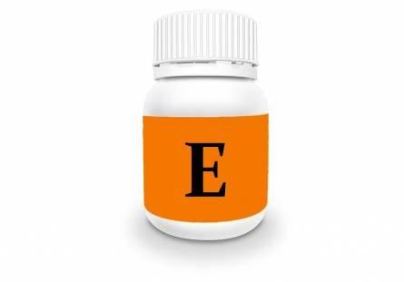 Capsules with vitamin E