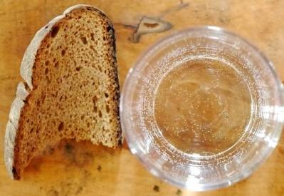 Bread and water diet