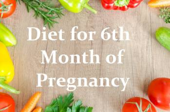 Diet for 6th month of pregnancy