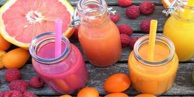 Grapefruit juice and fruit juices