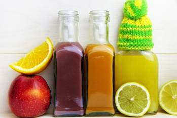Juices and fruits