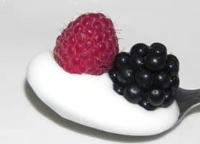Morus nigra and raspberry