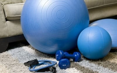 Sports equipment for home fitness